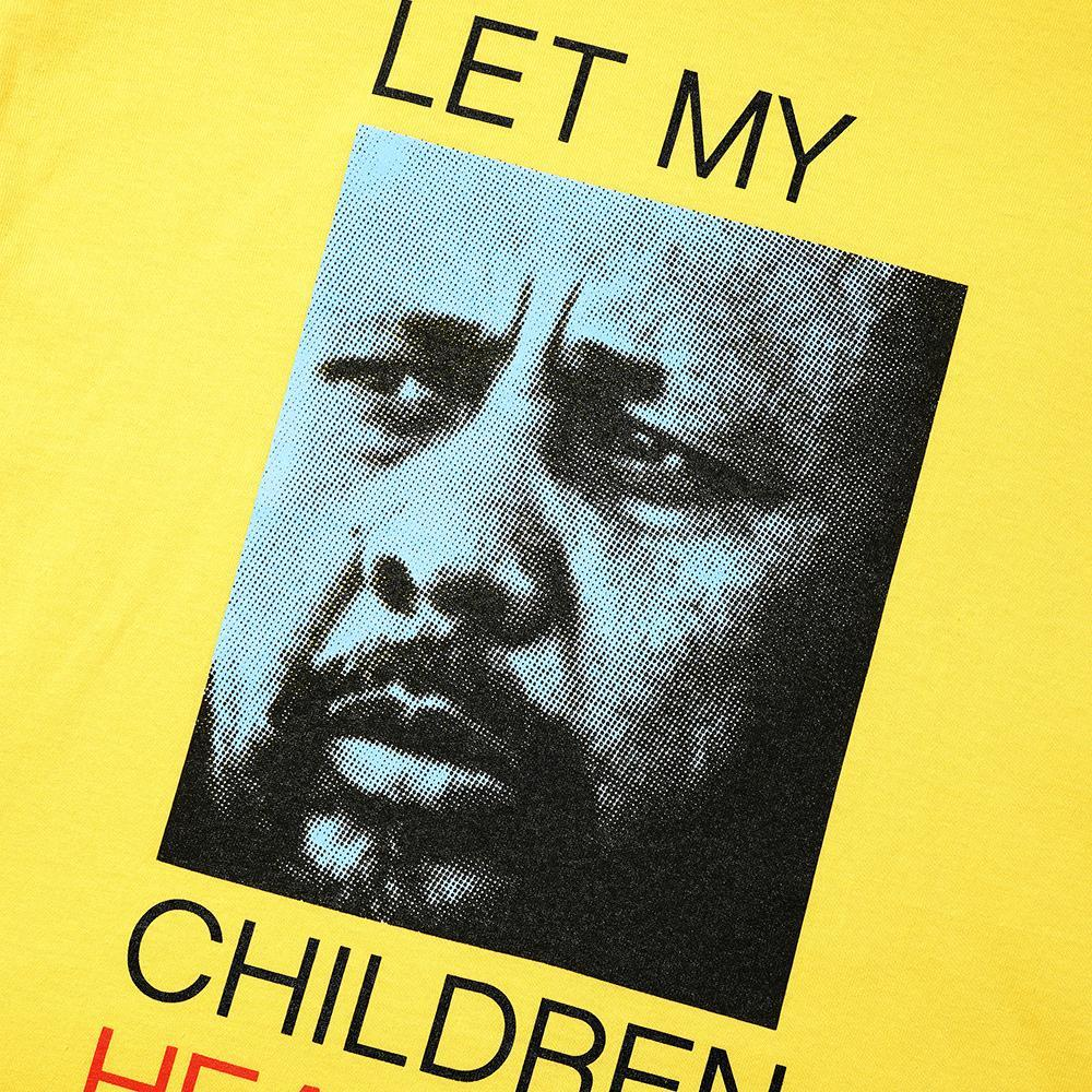 Let My Children Hear Music Tee, Yellow