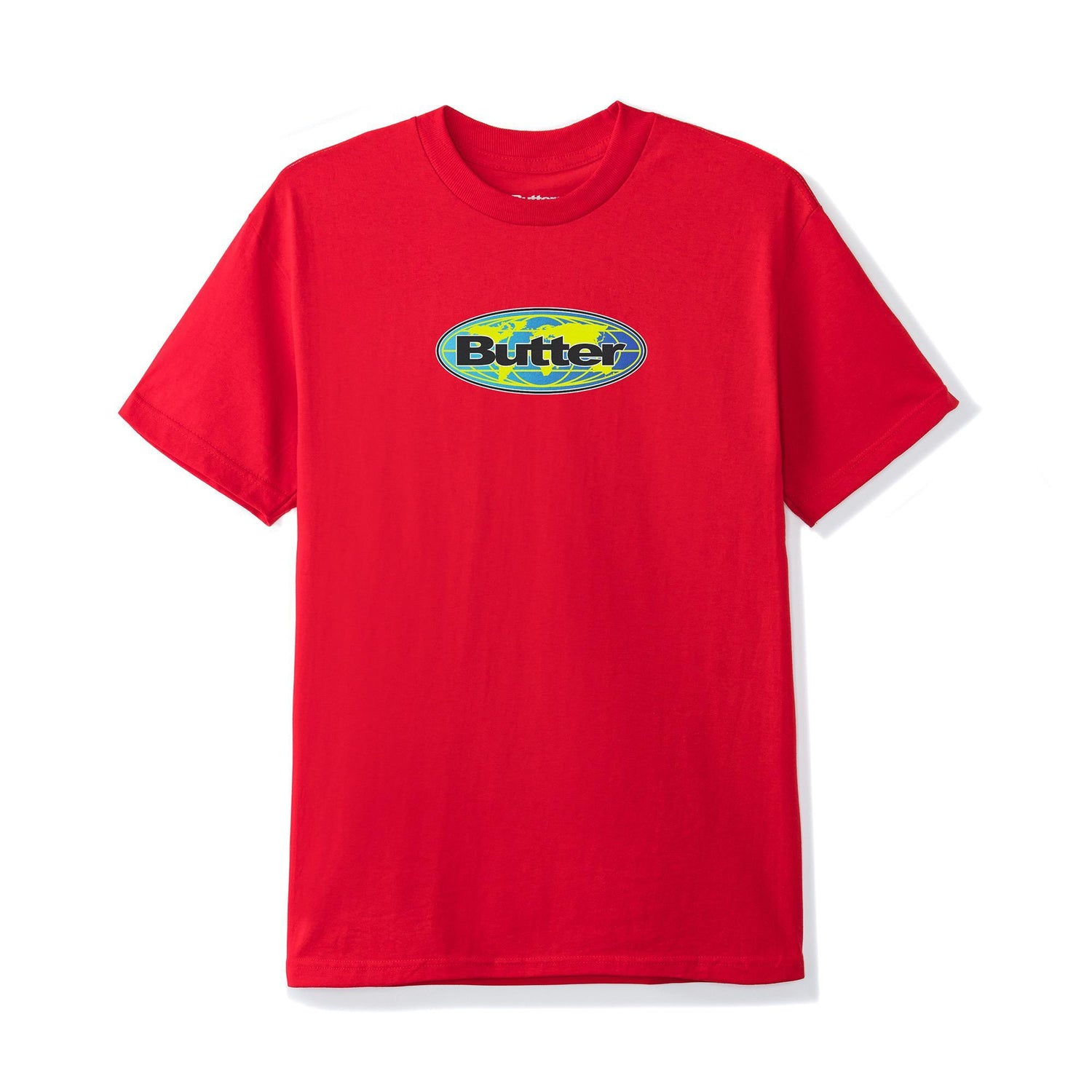 Global Logo Tee, Red