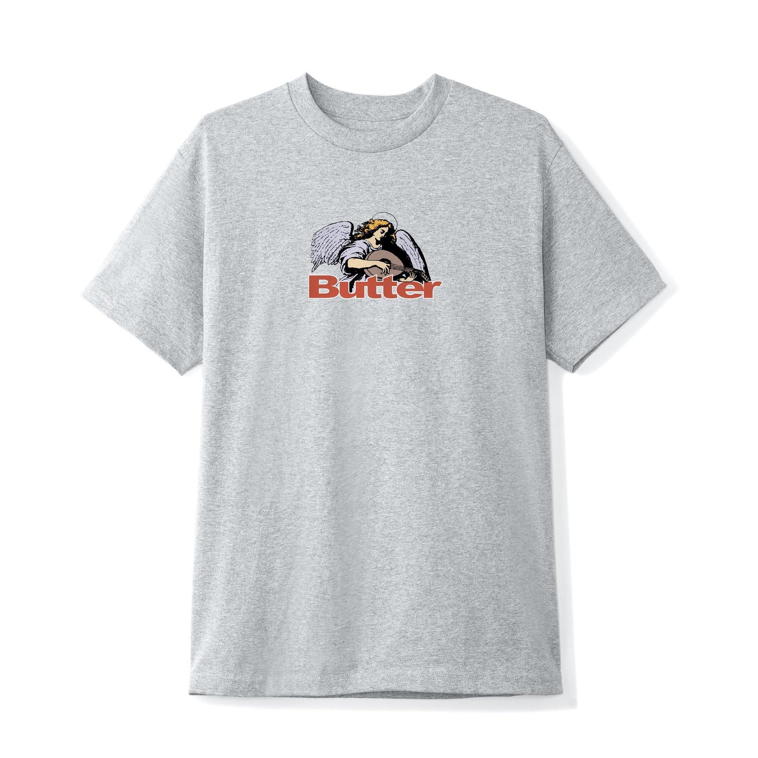 Serenade Logo Tee, Heather Grey