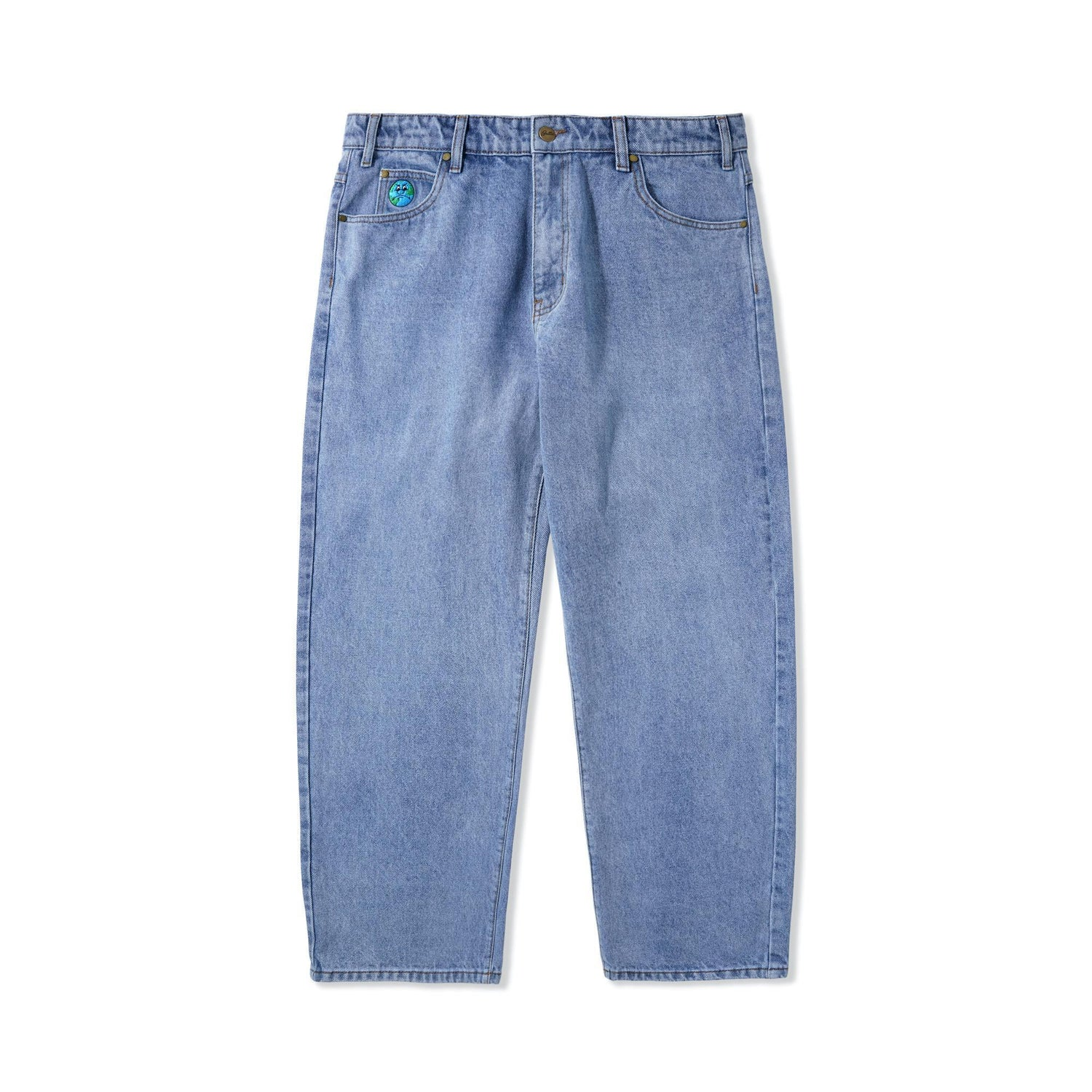World Denim Pants, Light Blue