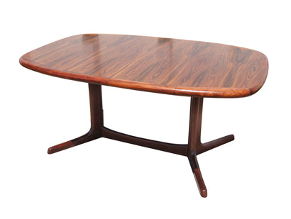 Dyrlund Rosewood Dining Table with Two Leaves