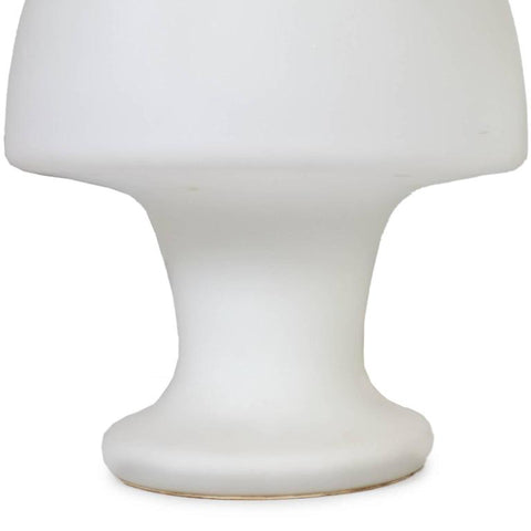 Laurel Frosted Glass Mushroom Lamp