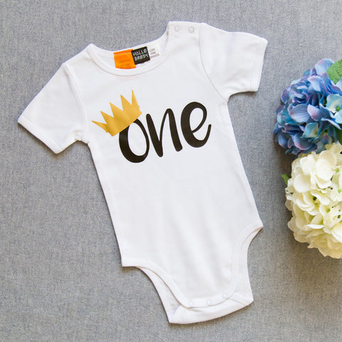 One Crown Onesie
