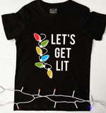 Let's Get Lit Kids T-Shirt
