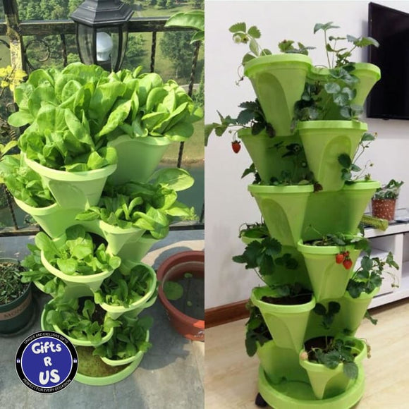 The Perfect 3 Tier Stackable Gardening Planter
