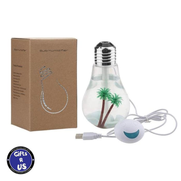 The Perfect Bulb (Essential Oil Diffuser Humidifier) - Silver