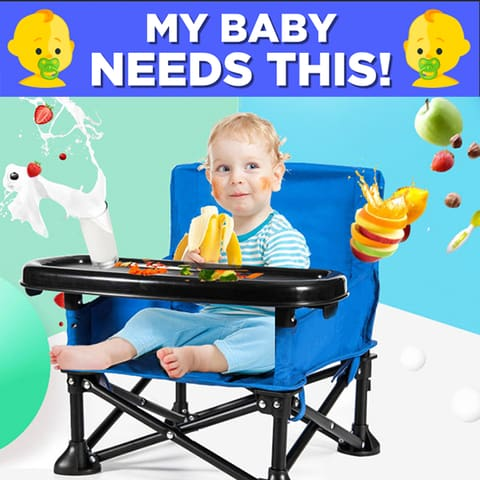 a small child sitting on a table