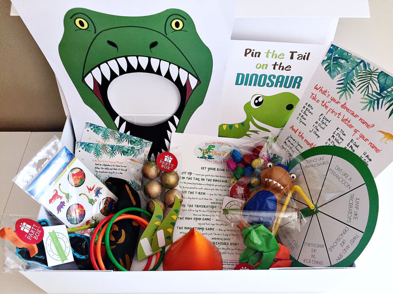 Dinosaur party games