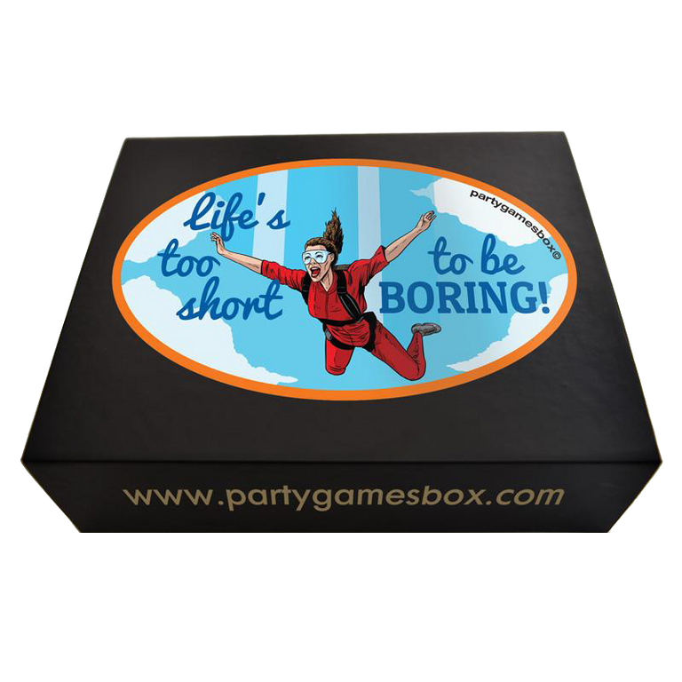 Hens party games box