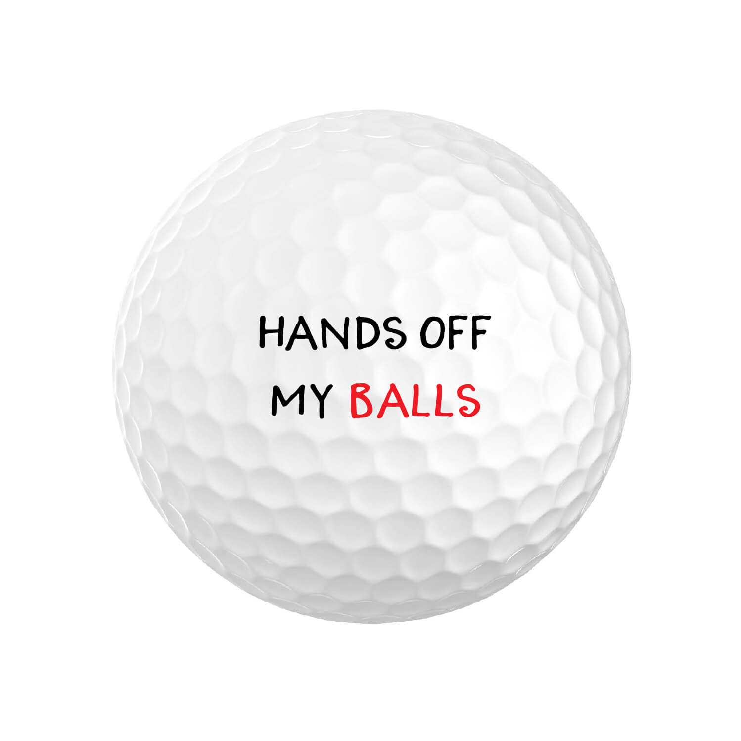Hands Off My Balls Golf Balls