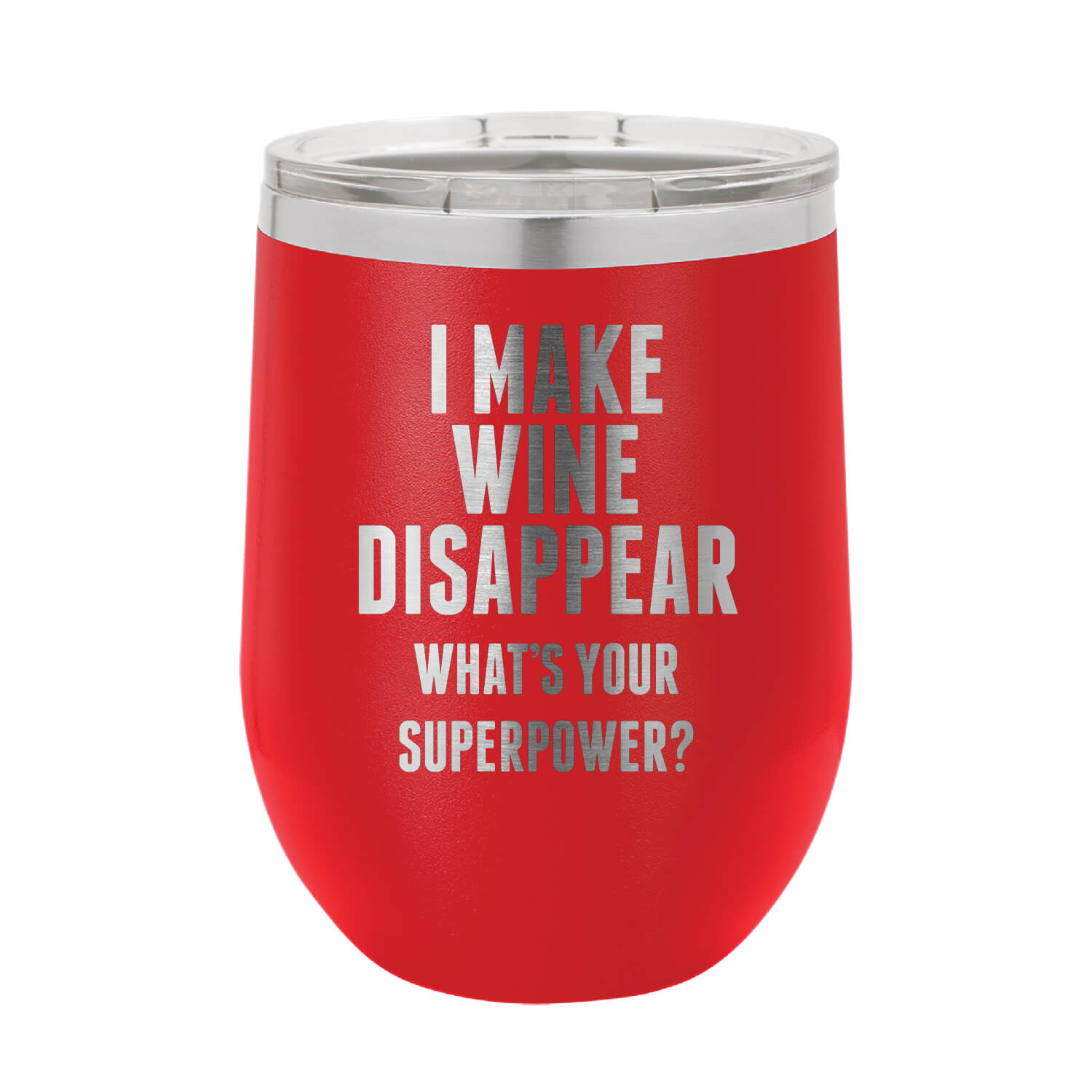 Wine Disappear Wine Tumbler