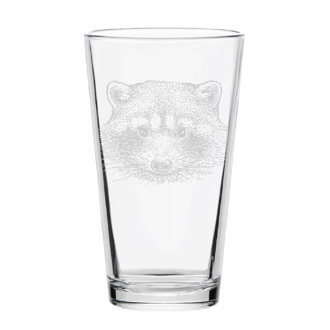 Raccoon Pint Glass