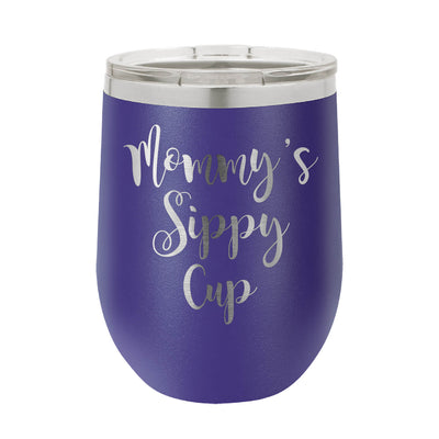 Mommy's Sippy Cup Wine Tumbler