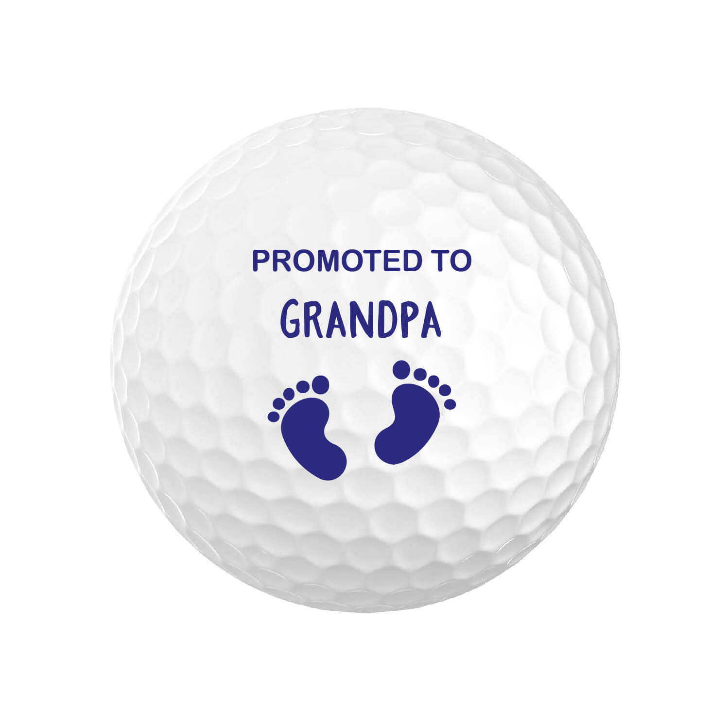 Promoted to Grandpa Golf Balls