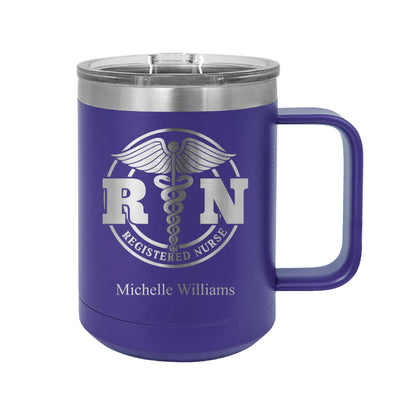 Registered Nurse Insulated Mug Tumbler