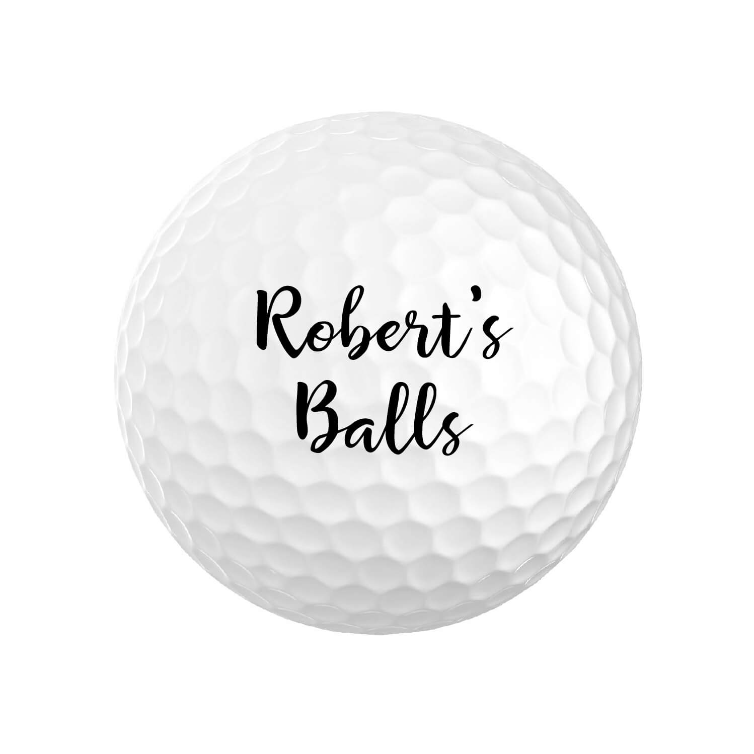 Funny Personalized Golf Balls
