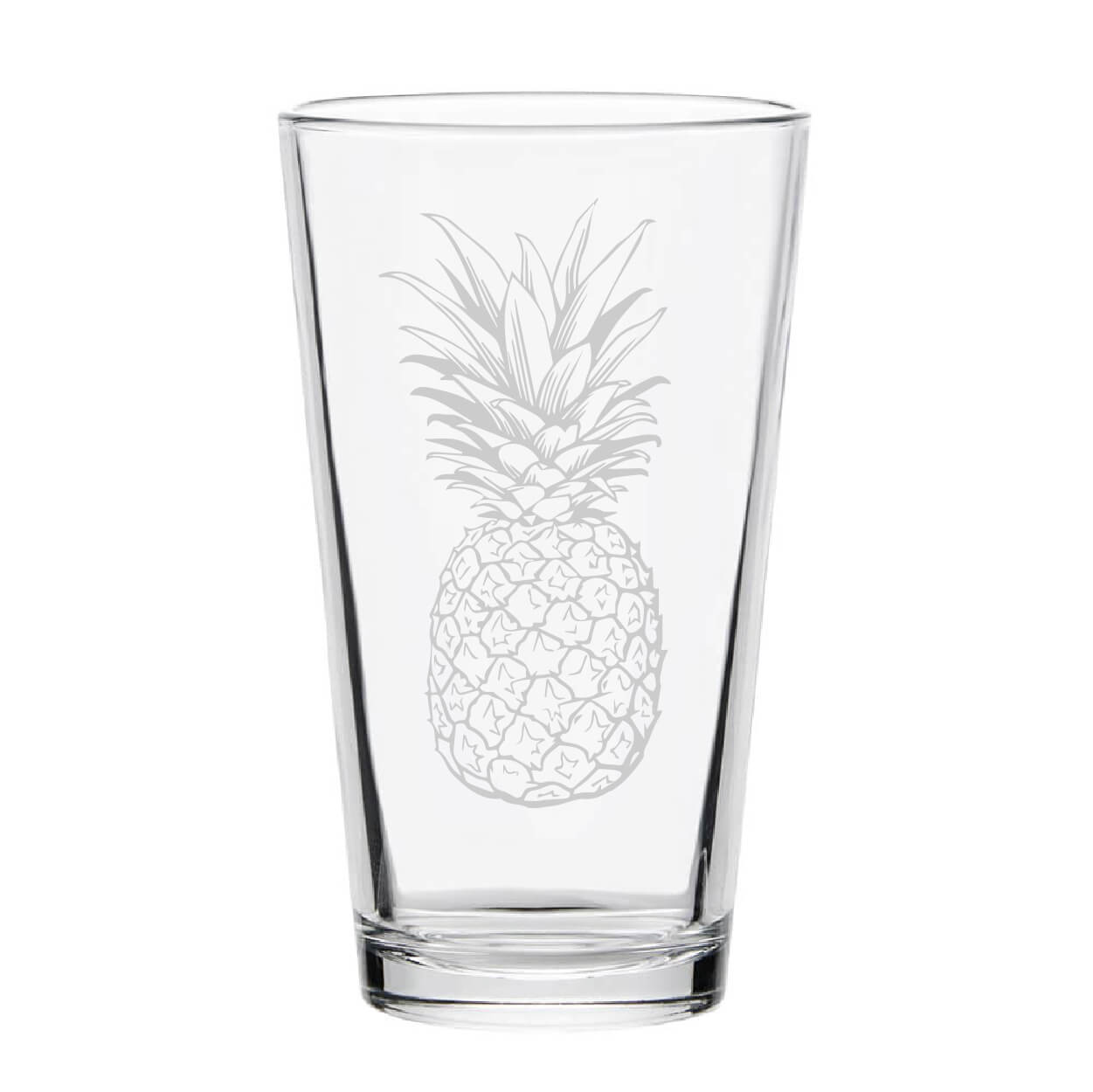 Pineapple Pint Glass