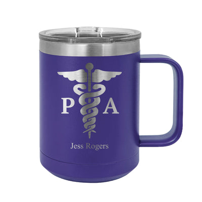 Physician Assistant Insulated Mug Tumbler