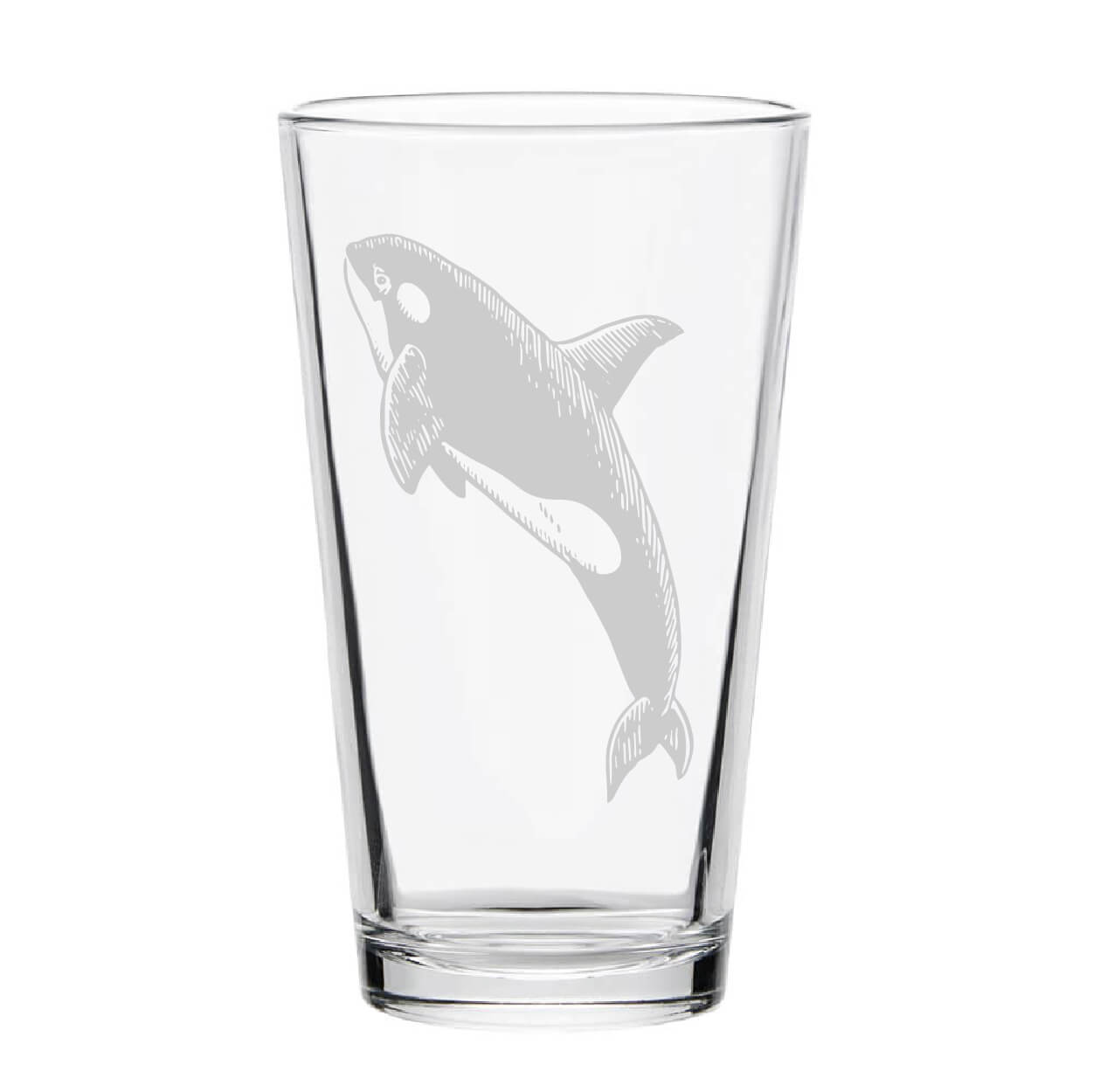 Orca Pint Glass