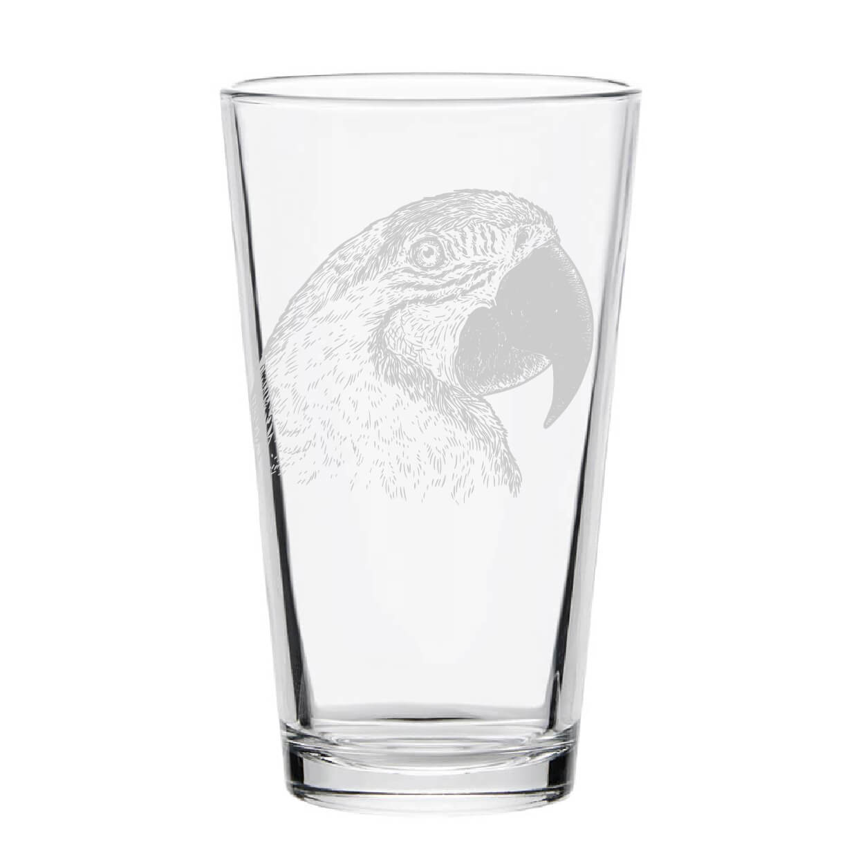 Parrot Pint Glass