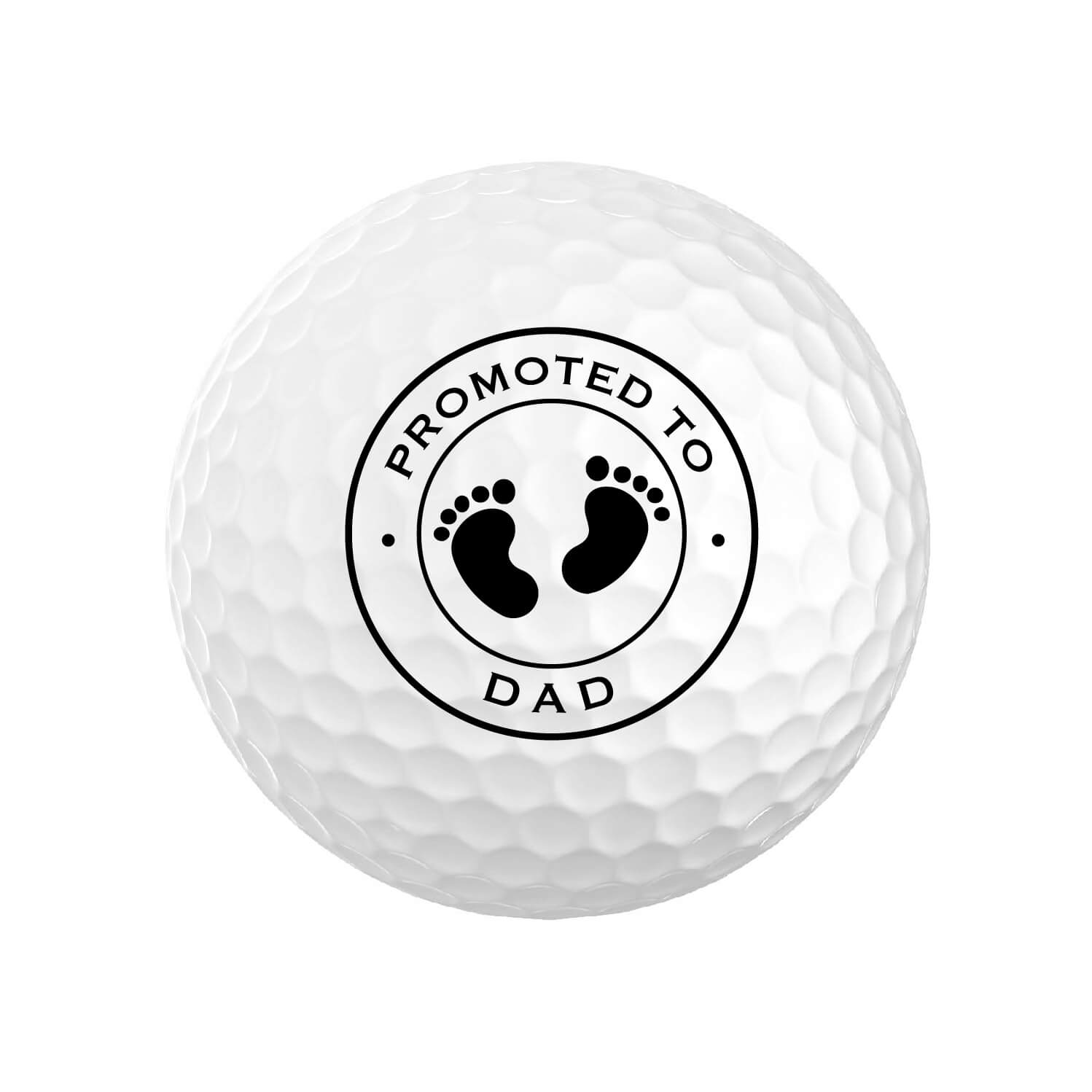 Promoted to Dad Golf Balls