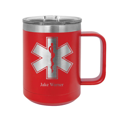 Emergency Medical Technician Insulated Mug Tumbler
