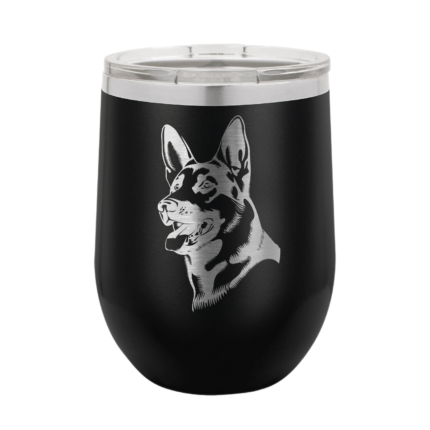 German Shepherd Wine Tumbler