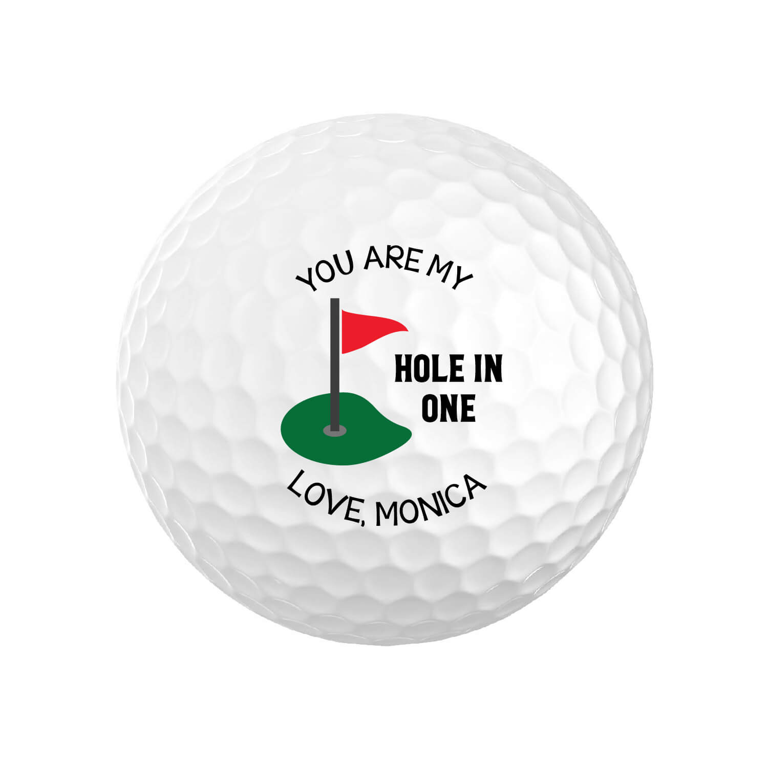 You Are My Hole In One Golf Balls