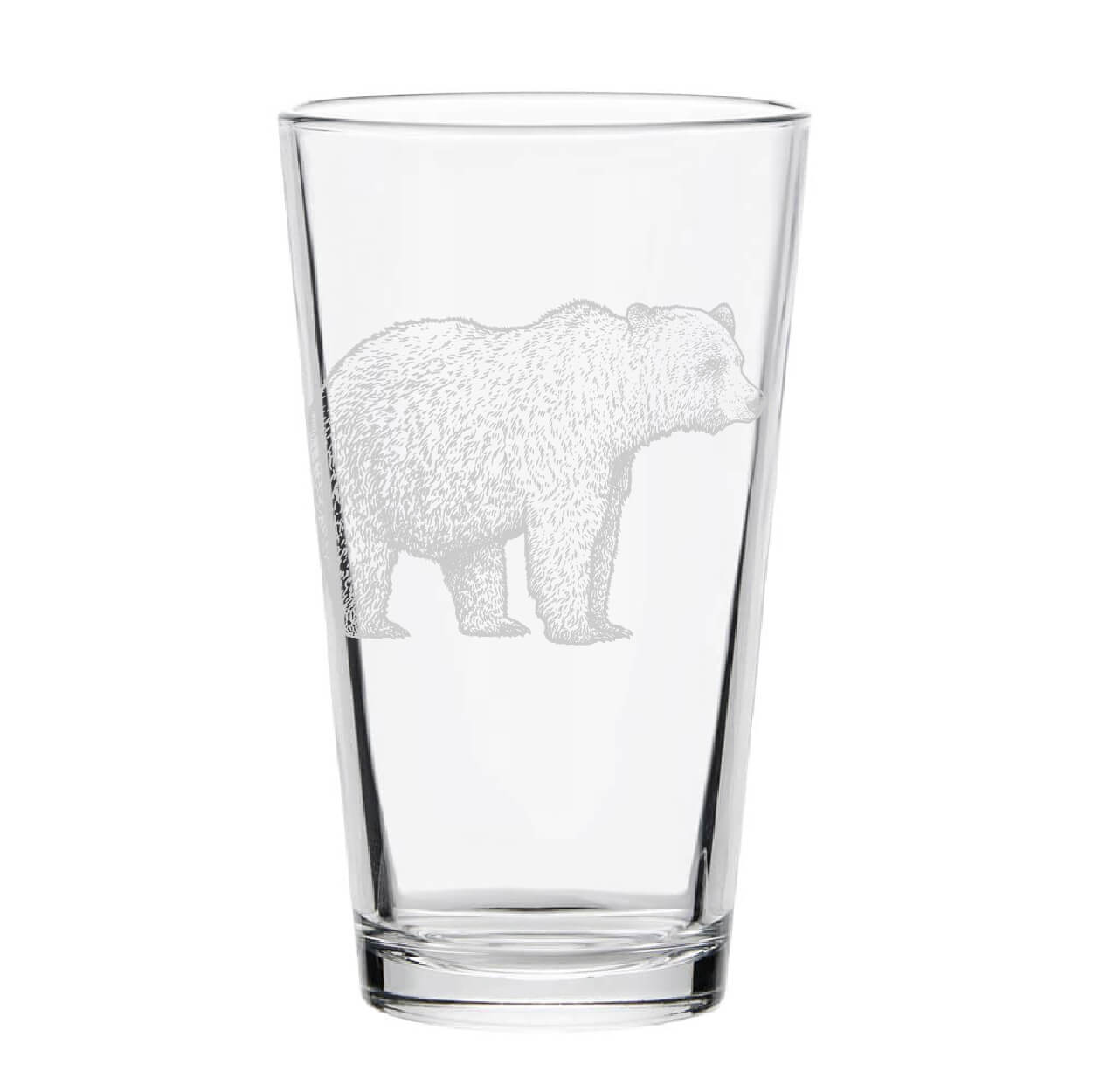 Bear Pint Glass