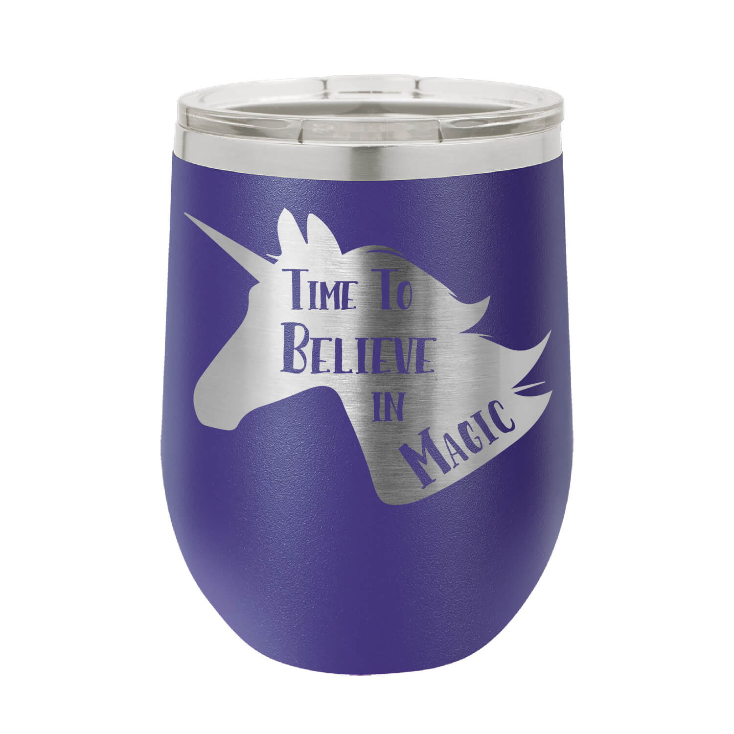 Time To Believe In Magic Wine Tumbler