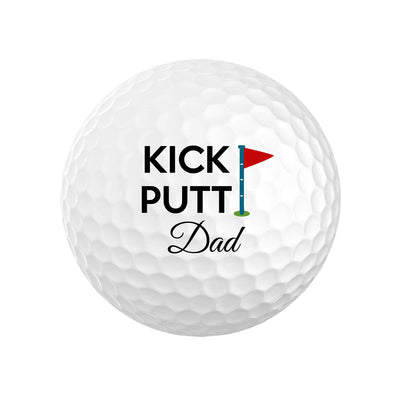 Kick Putt Dad Golf Balls