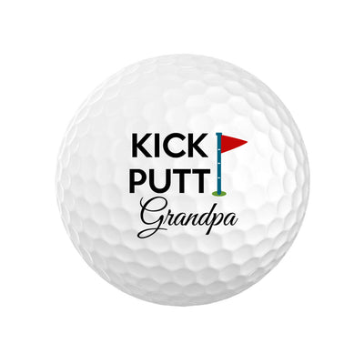 Kick Putt Grandpa Golf Balls