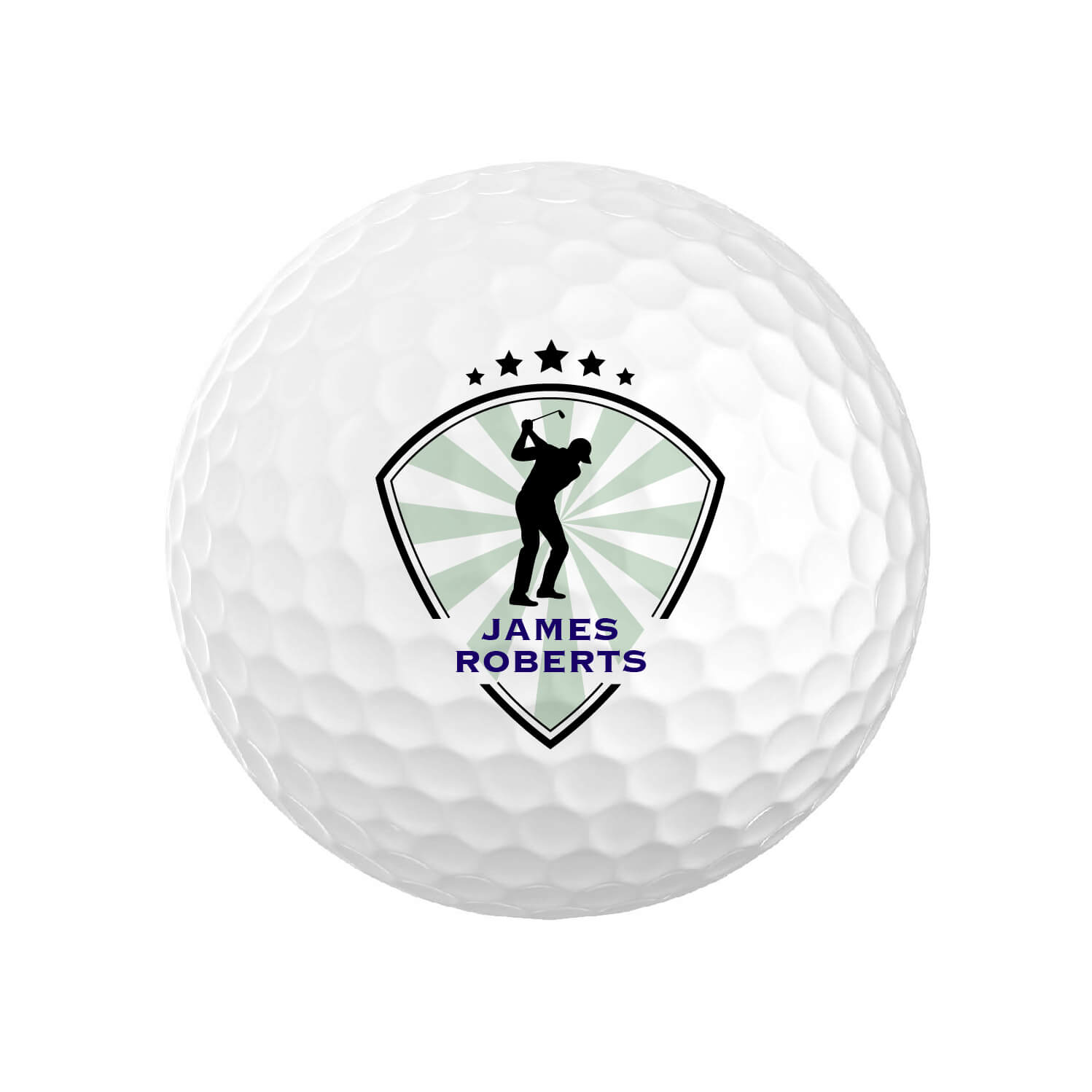 Personalized Golfer Golf Balls