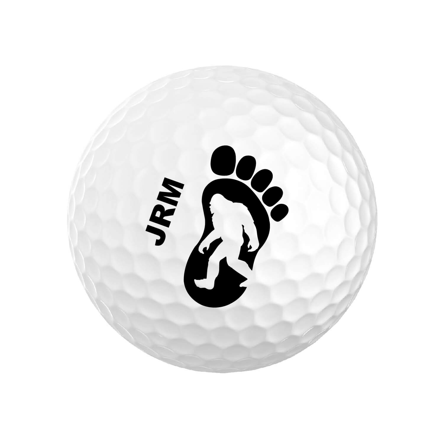 Bigfoot Monogrammed Golf Balls