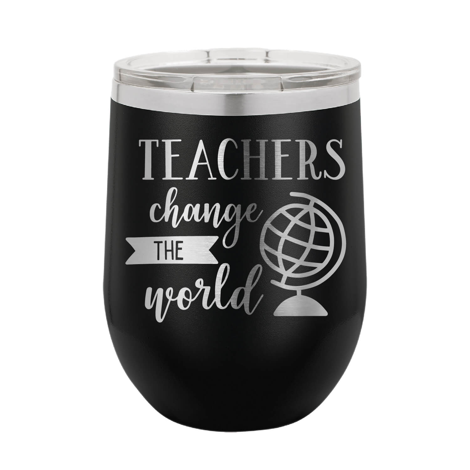 Teachers Change the World Wine Tumbler
