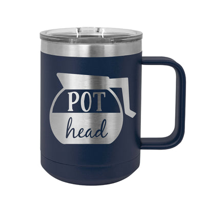 Pot Head Insulated Mug Tumbler
