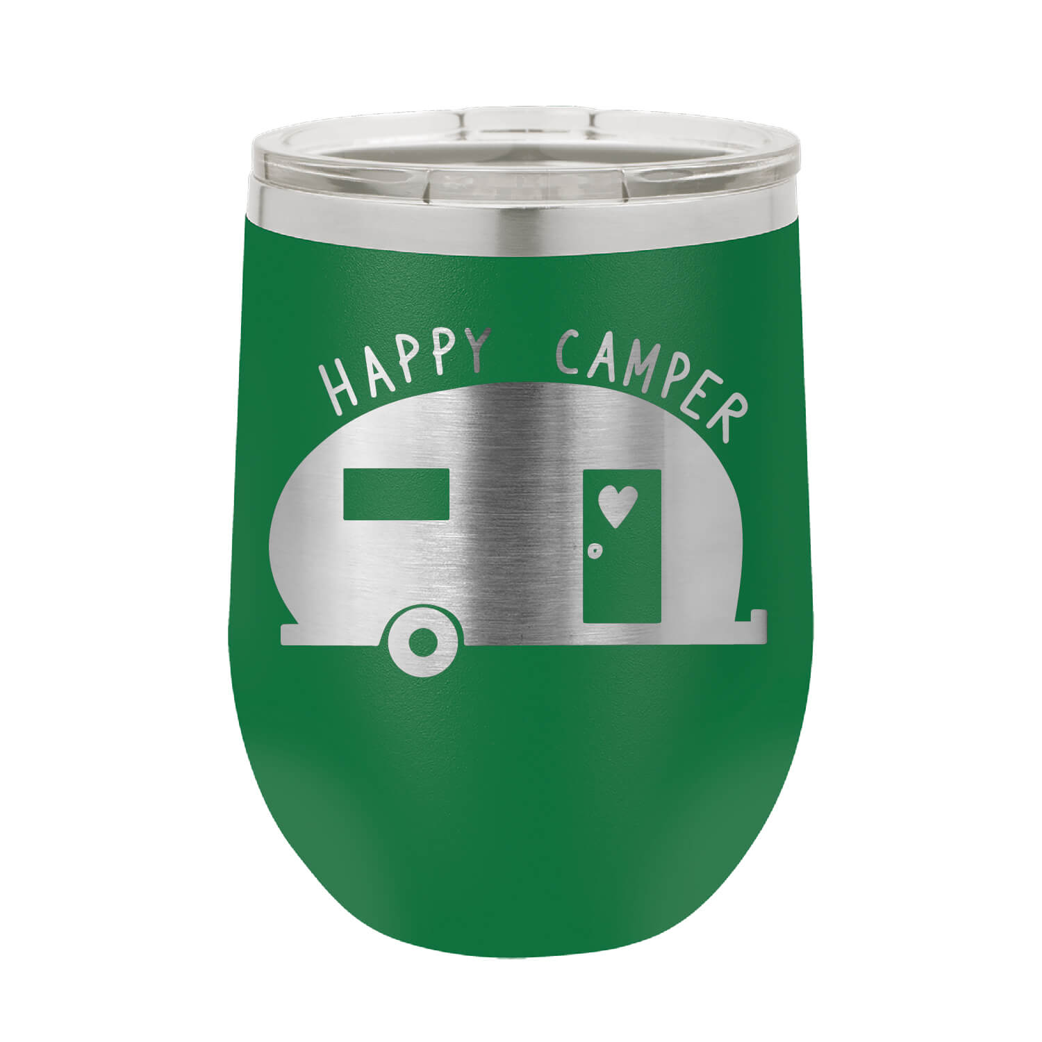 Happy Camper Wine Tumbler