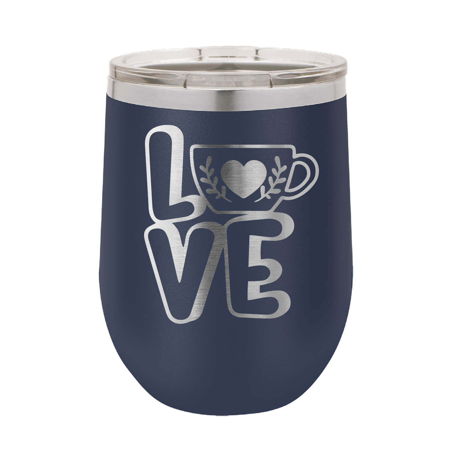 Love Coffee Wine Tumbler