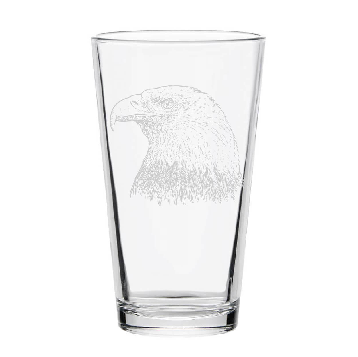 Bald Eagle Pint Glass