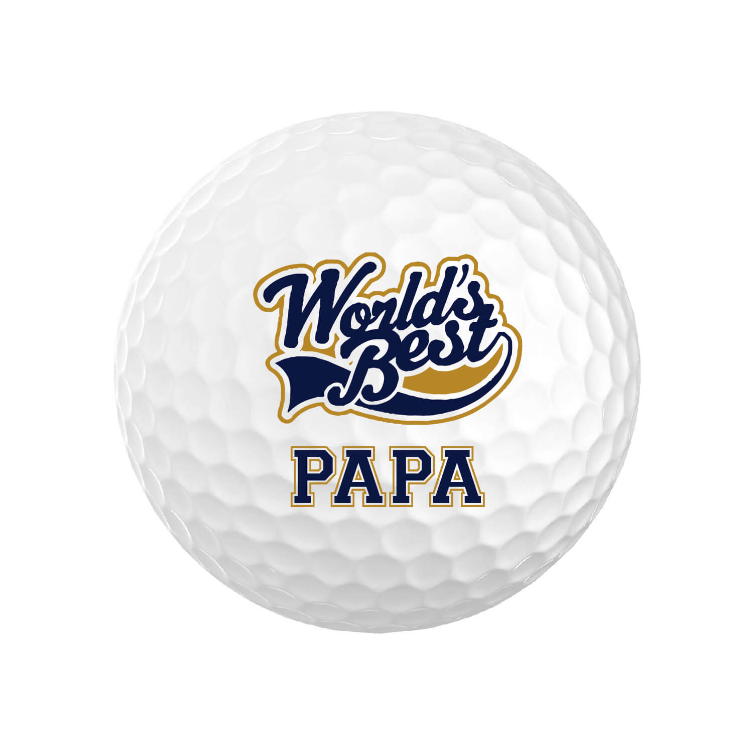 World's Best Papa Golf Balls