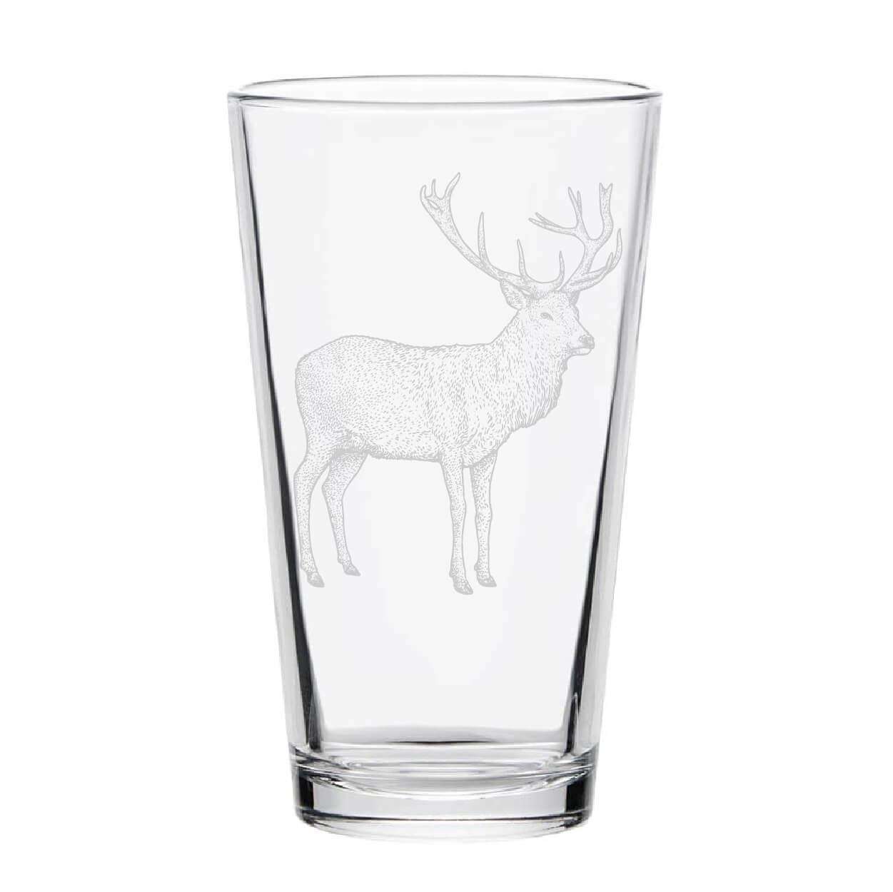 Buck Pint Glass