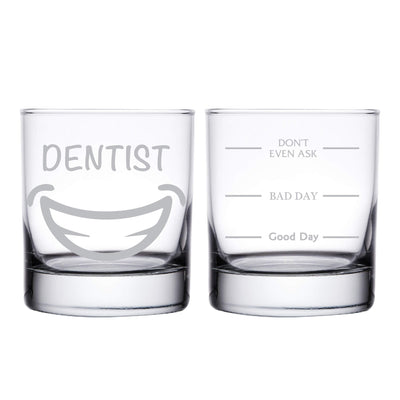 Dentist Personalized Whiskey Glass
