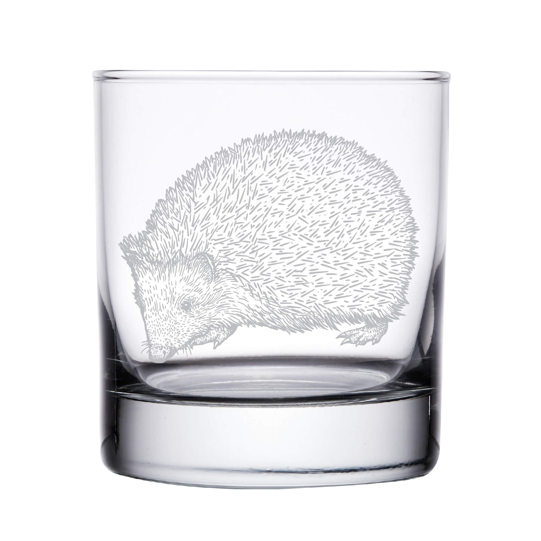 Hedgehog Whiskey Glass