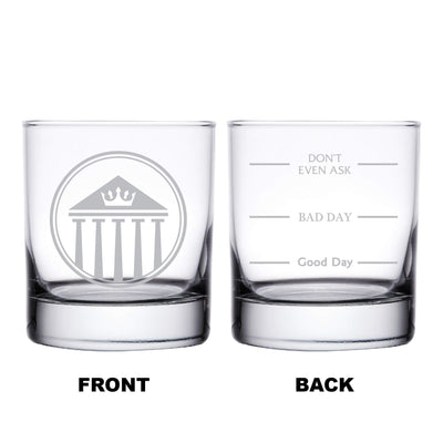 Lawyer Personalized Whiskey Glass