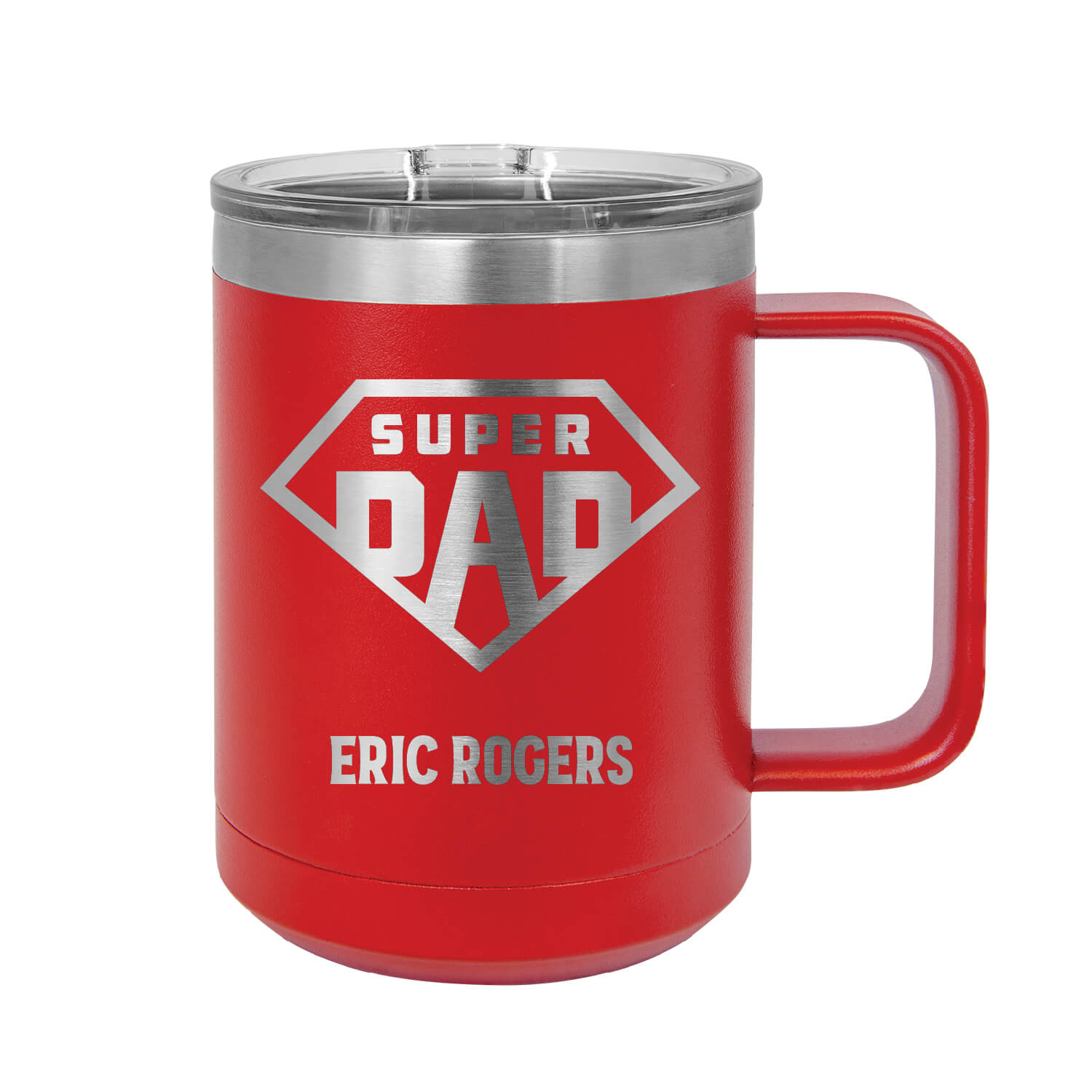 Super Dad Personalized Insulated Mug Tumbler