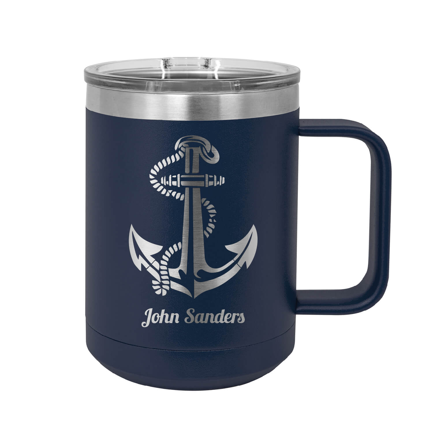 Personalized Anchor Insulated Mug Tumbler
