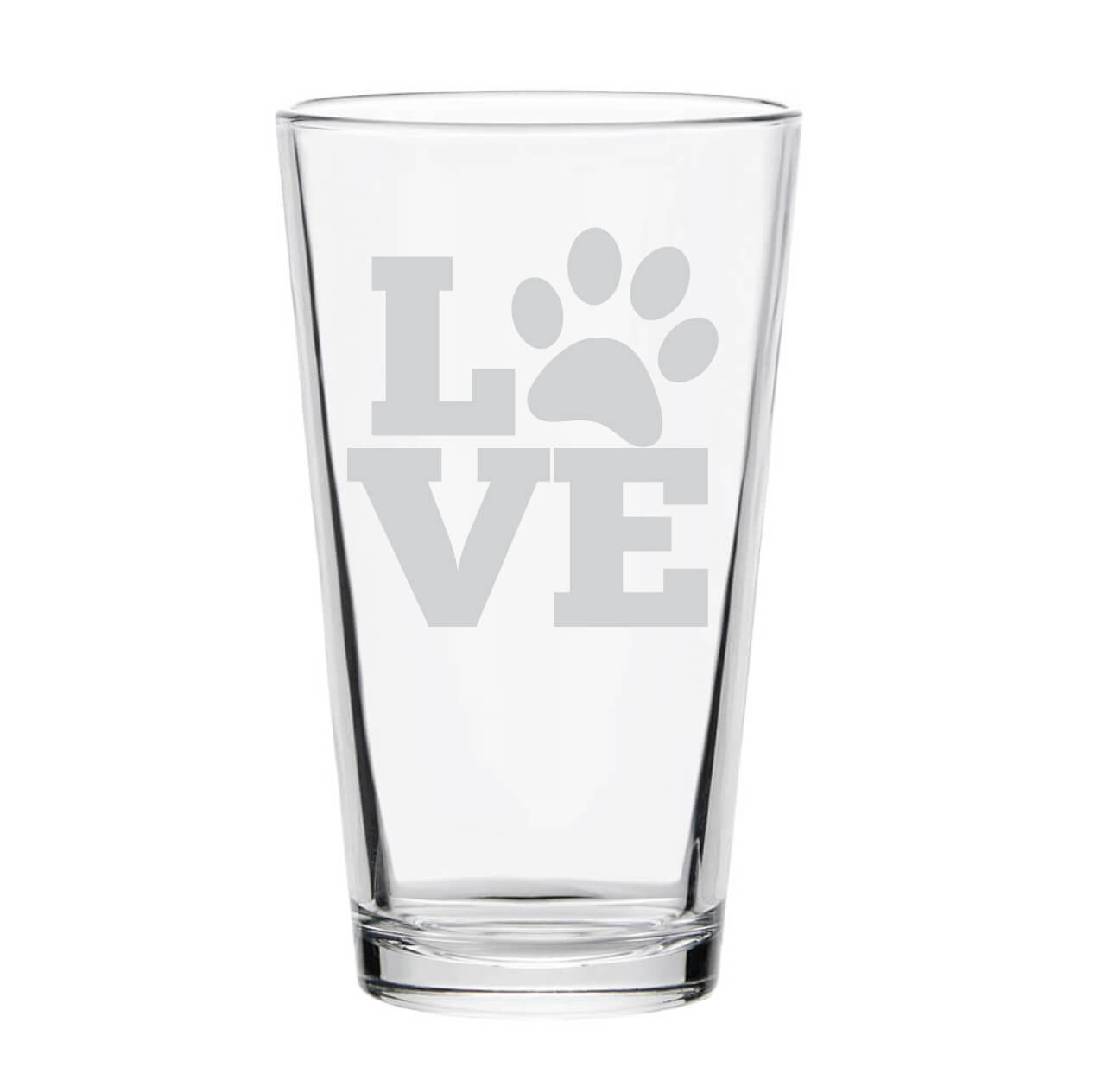 Love Pet Pint Glass
