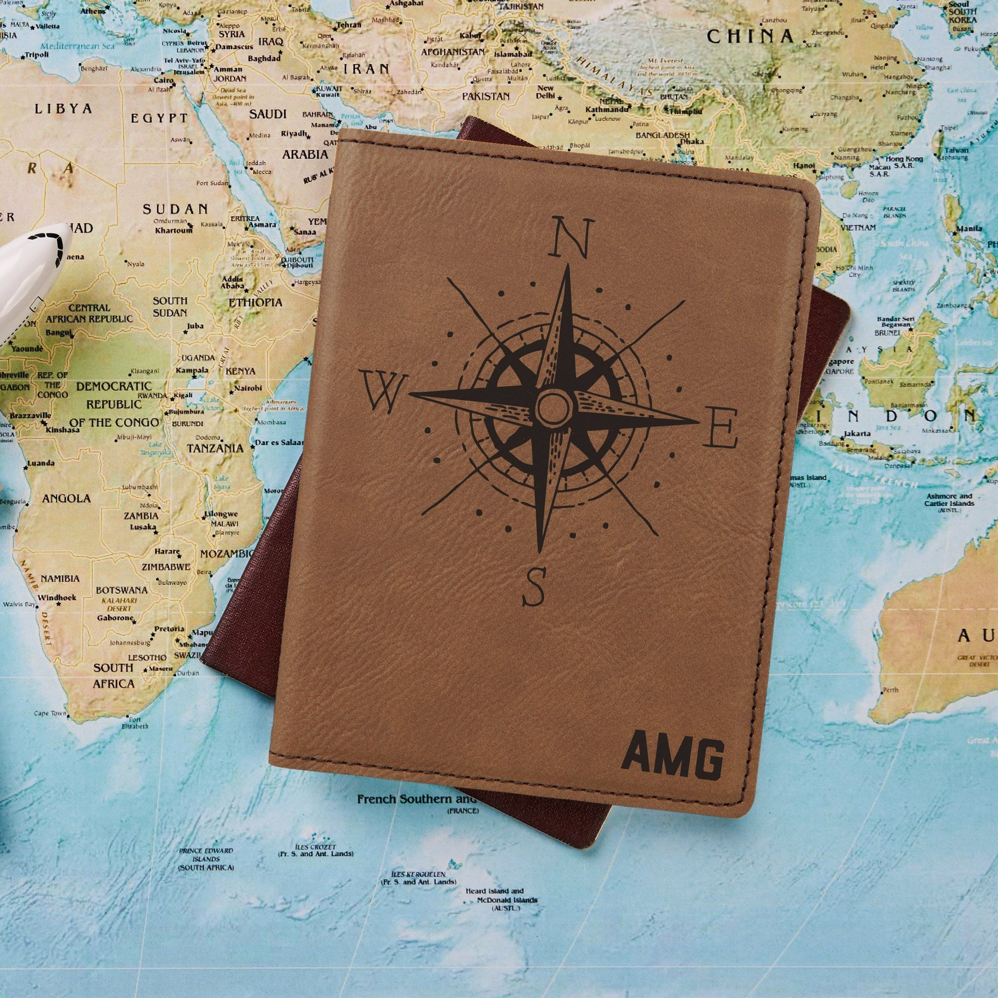 Compass Passport Holder