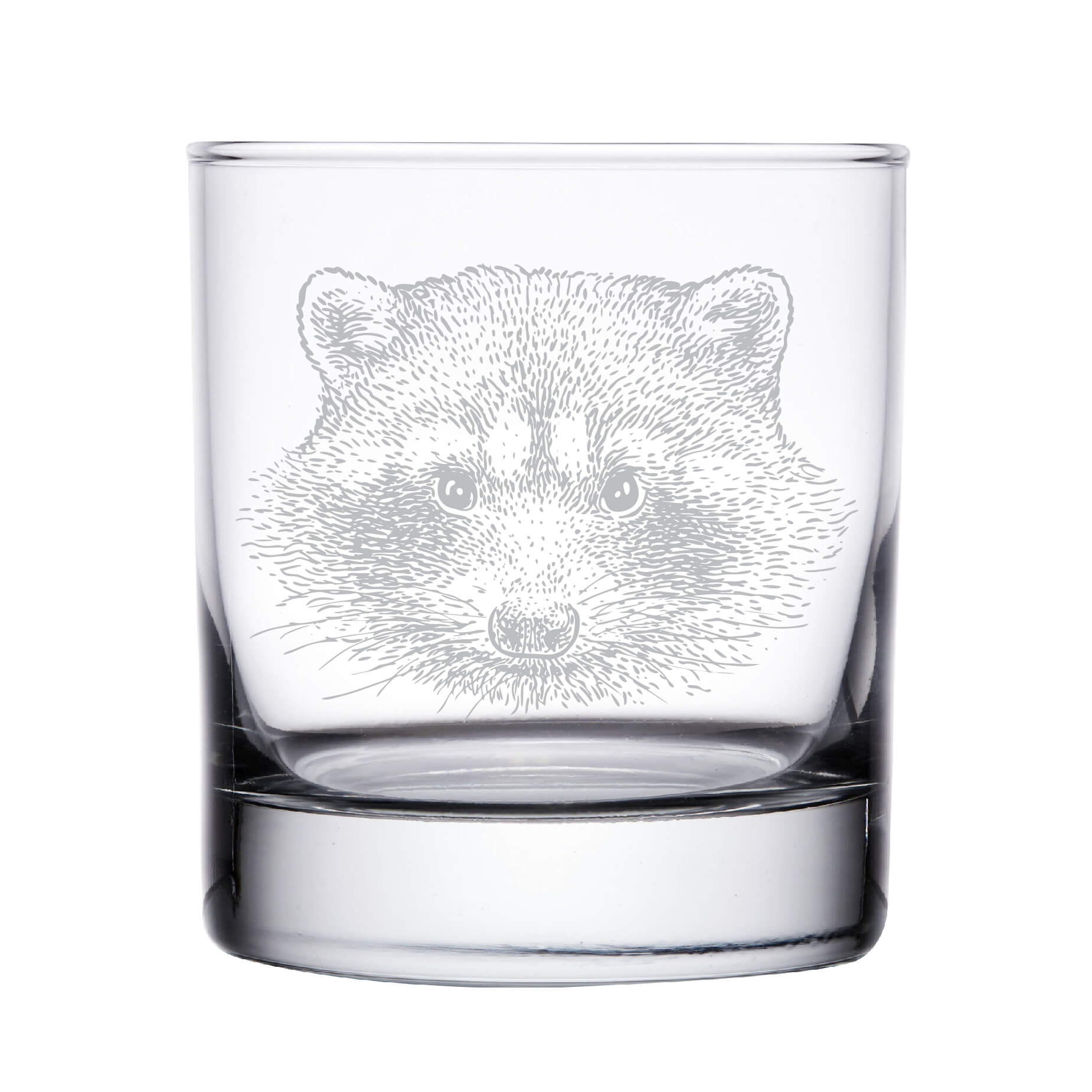 Raccoon Whiskey Glass