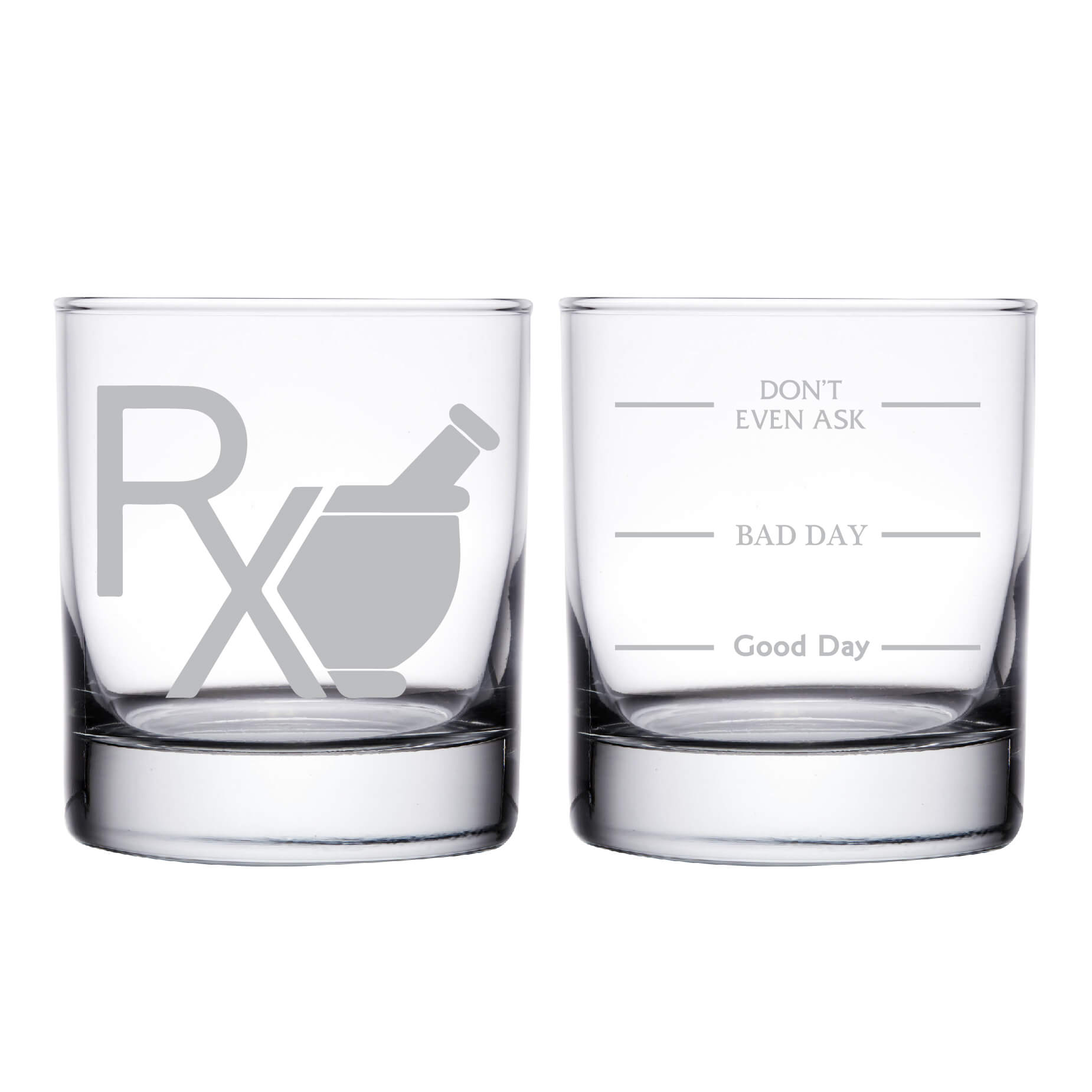 Pharmacist Personalized Whiskey Glass